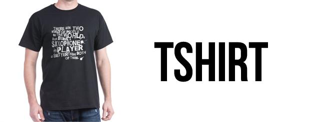 saksafon tshirt